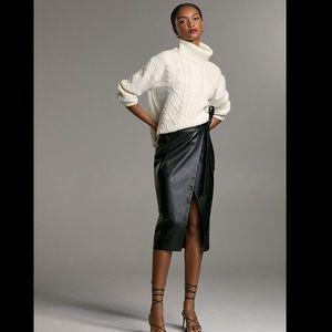 Aritzia slit skirt